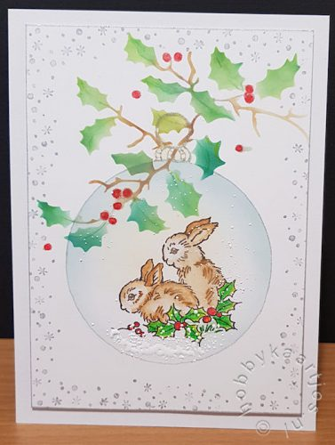 Birds and Bunnies van Stampendous